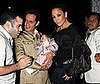 Photo of Jennifer Lopez and Marc Anthony Playing With a Baby in LA