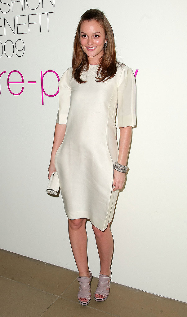 Leighton Meester Supports Parsons