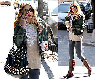 "Photos of Whitney Port, Who Says She's ""Overwhelmed"" by The City, Out in NYC"