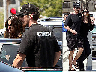 Photos of Christian Bale and His Wife Sibi Blazic Out in LA
