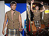 Photos of Ed Westwick in a Kilt at the Dressed to Kilt Charity Fashion Show
