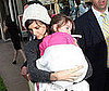 Photo of Katie Holmes and Suri Cruise at the American Girl Shop in LA