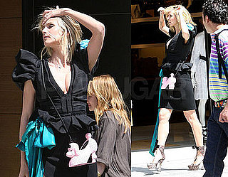 Heidi Klum Poses Big While ProjRun Gets Ready to Return