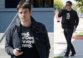 Photos of Josh Hartnett After Being Released From the Hospital
