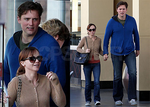 Photos of Recently Engaged Christina Ricci and Owen Benjamin
