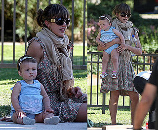Photos of Jessica Alba and Honor Warren Playing in a LA Park Together