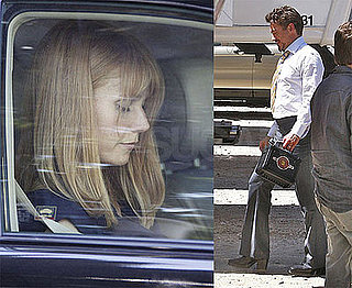 RDJ and Gwyneth Finish Up the First Day on Iron Man 2