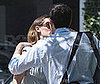 Photo of Ben Affleck and Jennifer Garner Kissing at an Easter Party