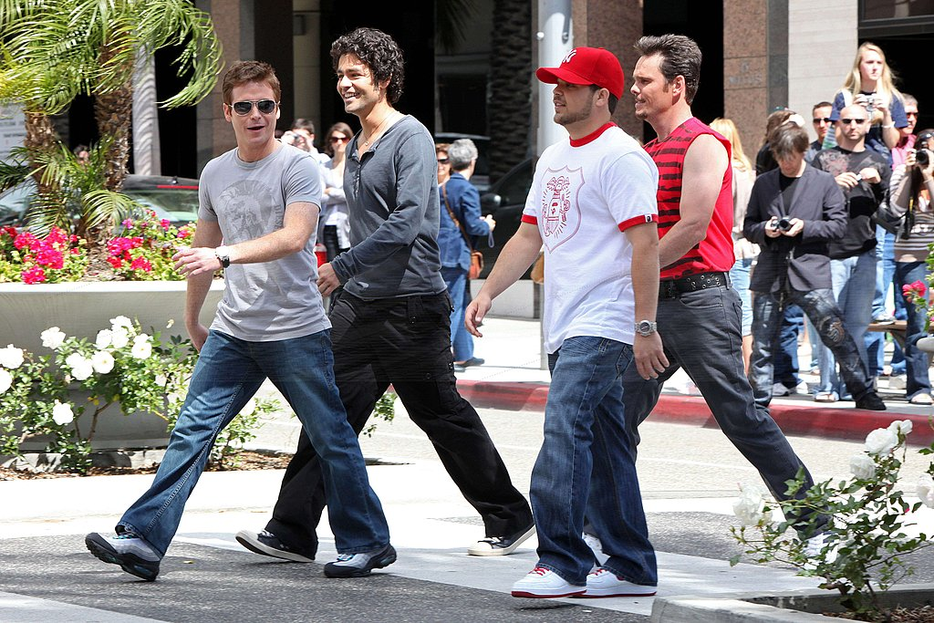 Entourage Filming in LA