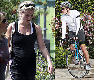 Photos of Reese Witherspoon and Jake Gyllenhaal Working Out in LA