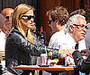 Photo of Bar Refaeli Getting Lunch at Bar Pitti in NYC