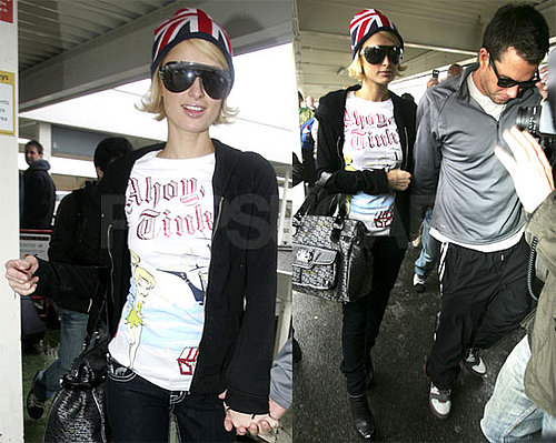 Photos of Paris Hilton and Doug Reinhardt Leaving London