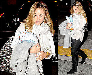 Photos of Lauren Conrad at JFK