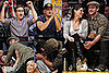 Photos of Leonardo DiCaprio, Kevin Connolly, Justin Timberlake and Jessica Biel Kissing at the Lakers Game