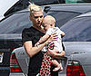 Photo of Gwen Stefani and Zuma Rossdale Together in LA