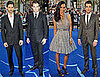 Photos of Eric Bana, Zoe Saldana, Chris Pine, and Zachary Quinto at the Star Trek Premiere in London