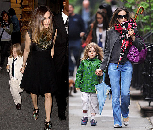 Photos of Sarah Jessica Parker, Who's Expecting Twins Via a Surrogate, with Son James Wilkie Broderick in NYC
