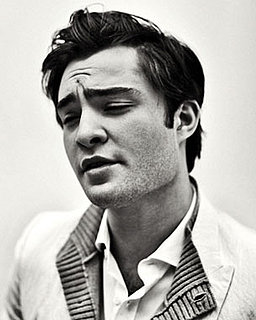 Photos and Quotes from Ed Westwick in Interview Magazine
