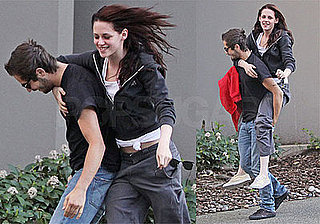 Photos of Kristen Stewart and Michael Angarano in Vancouver