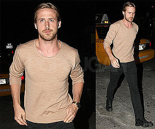 Photos of Ryan Gosling During a Night Out in NYC