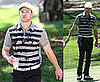 Justin Timberlake Playing Golf