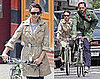 Photos of Rachel McAdams and Josh Lucas Riding Bikes in NYC