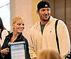 Photo of Jessica Simpson and Tony Romo at LAX