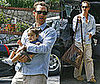 Photos of Matthew McConaughey Carrying Son Levi