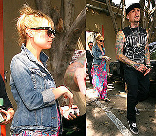 Photos of Pregnant Nicole Richie Out in LA