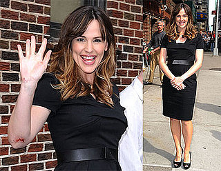 Photos and Video of Jennifer Garner on The Late Show