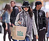 Photo of Rachel Bilson Leaving Whole Foods in New York