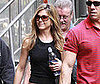 Photo of Jennifer Aniston Filming The Baster in NYC