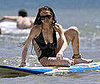 Photo of Lindsay Lohan Learning to Surf in Hawaii