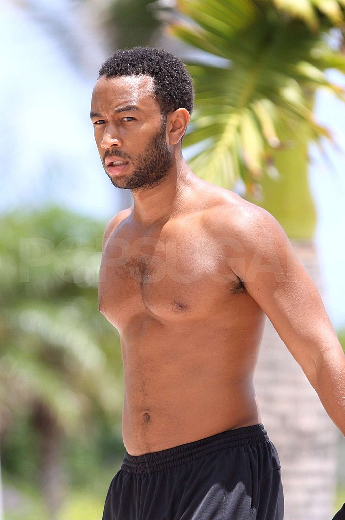 John Legend Shirtless