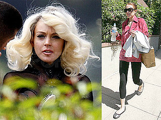 Photos of Lindsay Lohan Dressed as Marilyn Monroe For a Photo Shoot