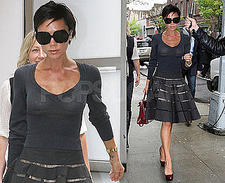 Photos of Victoria Beckham Leaving Her Hotel in NYC