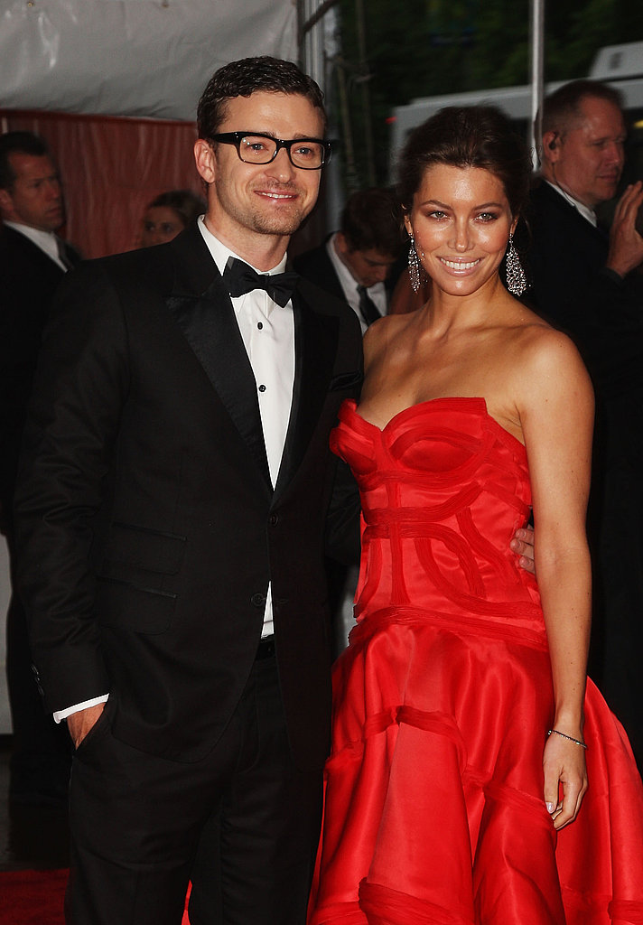 JT and Biel at the Costume Gala