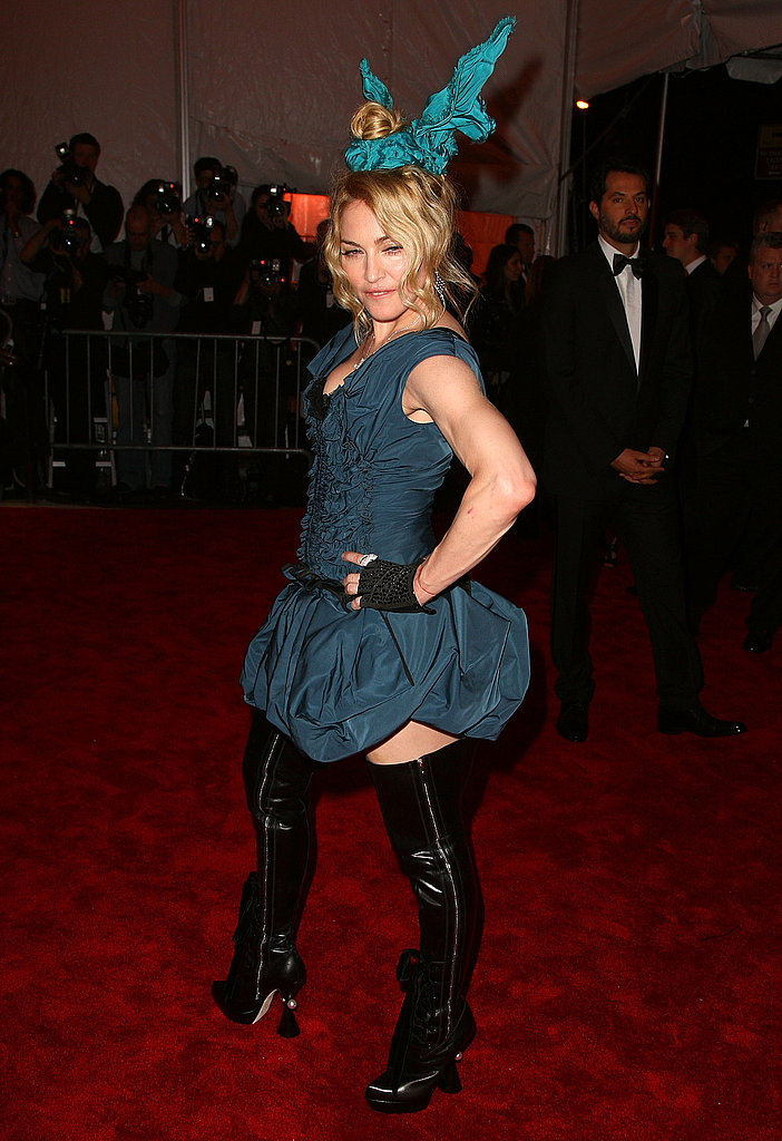 Madonna at the Costume Gala