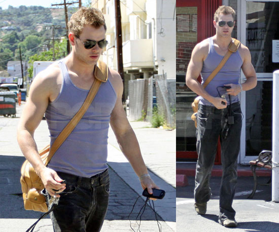 Kellan is Buff