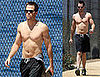Star Trek&#039;s Chris Pine Shirtless in LA  Sexy or Not?