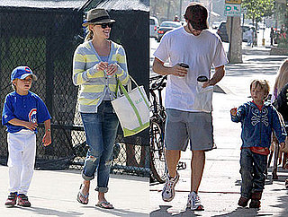 Photos of Reese Witherspoon and Deacon Phillippe at Little League Game in LA, and With Jake Gyllenhaal in LA