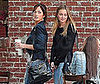 Photo Slide of Leighton Meester and Minka Kelly Filming The Roommate Monday in LA