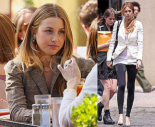 Photos of Whitney Port Filming The City With Olivia Palermo in NYC