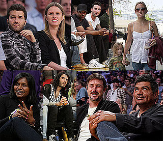 Photos of Kate Hudson, Denzel Washington, Adam Levine, Nicky Hilton, Mindy Kaling at Lakers Game 7 Against Rockets