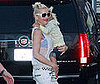 Photo Slide of Gwen Stefani and Kingston Rossdale Arriving at Jimmy Kimmel Live