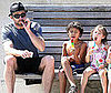 Photo Slide of Hugh Jackman with Kids Oscar and Ava in NYC