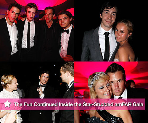 Photos of Robert Pattinson, Paris Hilton, Diane Kruger, Josh Hartnett Inside the Cannes amfAR Gala