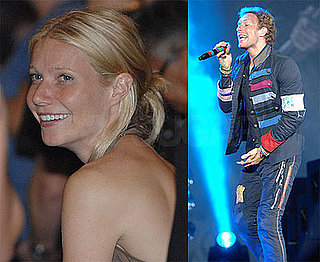Photos of Gwyneth Paltrow, Who Might Be Cutting Her Ties with Estee Lauder, at a Coldplay Show in West Palm Beach