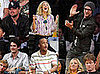 Photos of John Mayer, Justin Timberlake, Leonardo DiCaprio, Drew Barrymore at Lakers Game