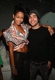 Rihanna and Pete Wentz